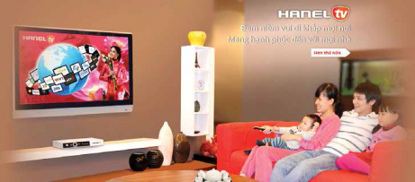 Hi-tech television products: Hanel IPTV